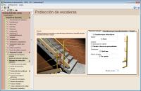 Estudio de Seguridad y Salud. Protección de escaleras
